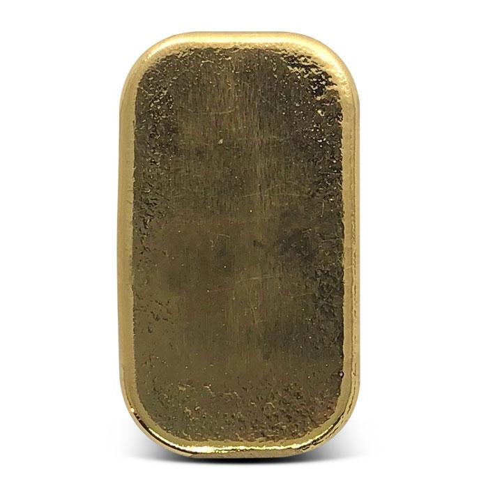 Reverse of PAMP Suisse 50 gram Gold Bar