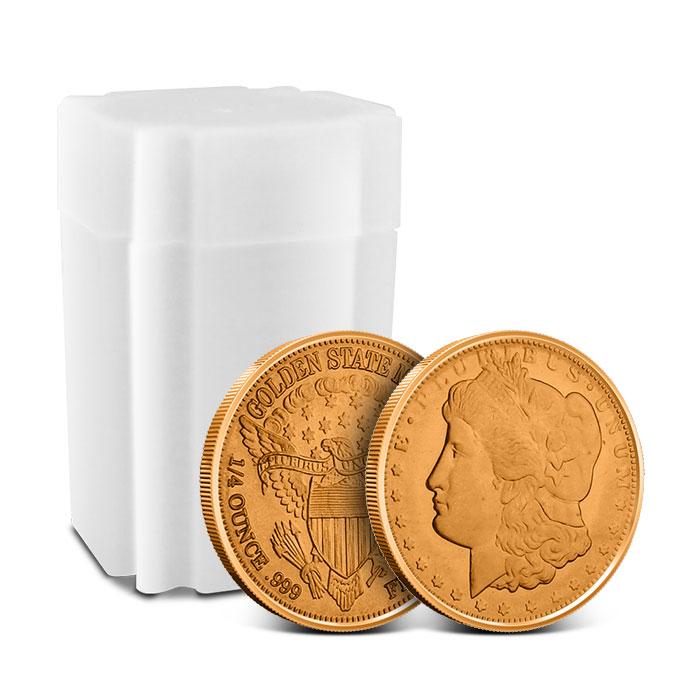 Morgan Dollar Fourth oz Copper Round roll of 20