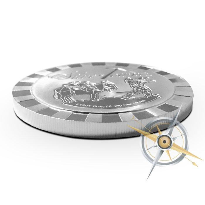1 oz Silver Stackable Prospector Round | SilverTowne