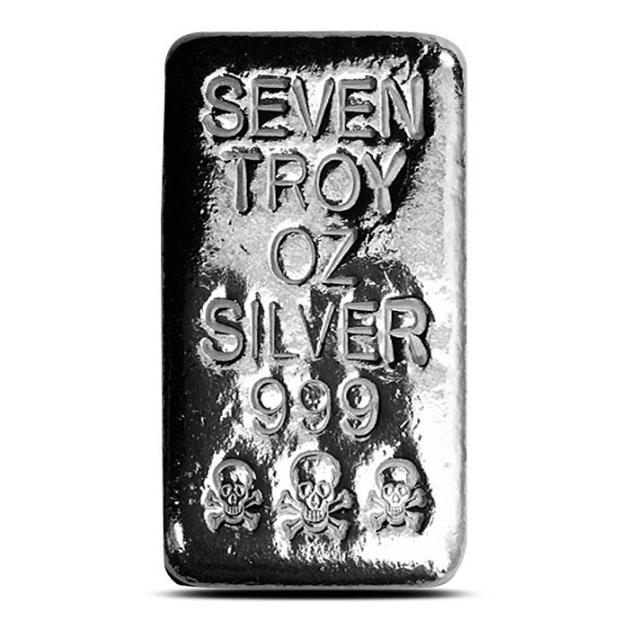 Atlantis Mint 7 oz Silver Bar
