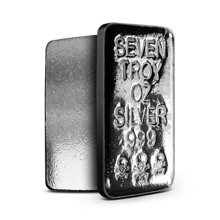 7 oz Atlantis Mint Silver Bar