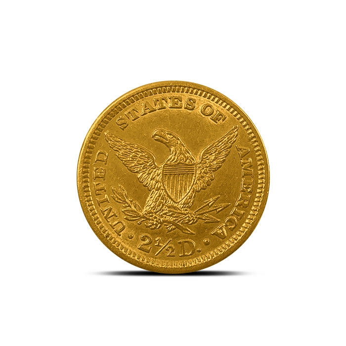 $2.50 Liberty Gold Quarter Eagle | Polished or Cleaned