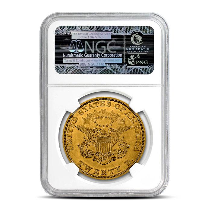$20 Liberty Gold Double Eagle | NGC MS62