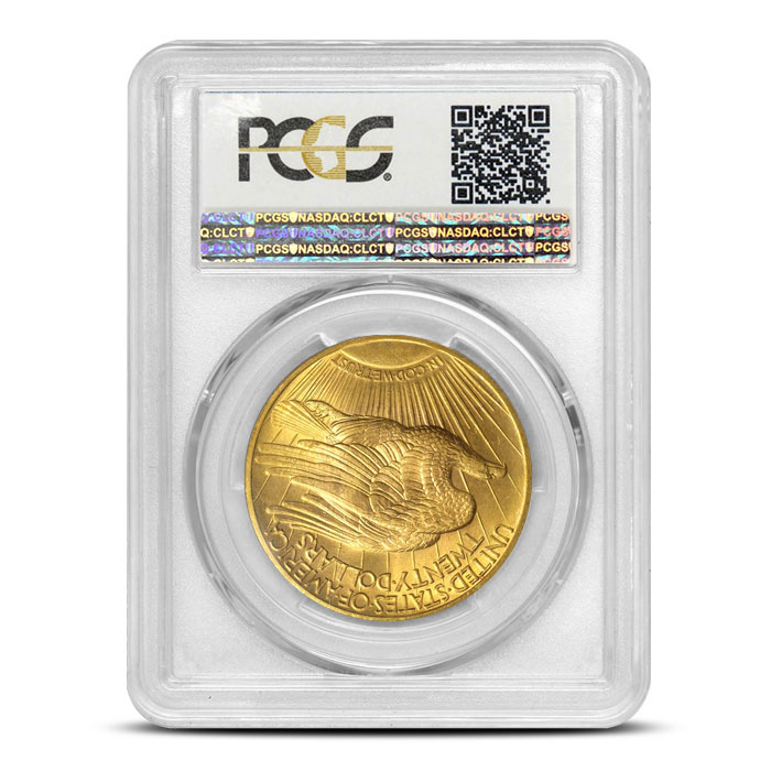 Saint Gaudens Gold Coin PCGS MS62