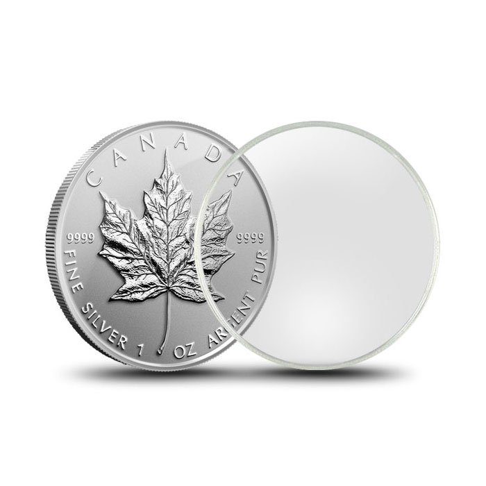 Air-Tite Capsule   Silver Dollar & Silver Maple 38.1mm
