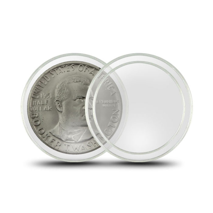 Air-Tite Plastic Coin Holder | Half Dollar 30.6mm