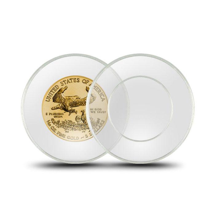 Air-Tite Plastic Coin Holder | 1/10th oz Gold Coins 16.5 mm