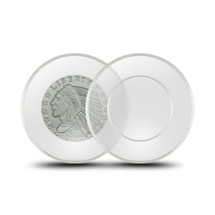 Air-Tite Plastic Coin Holder | Tenth Ounce Silver/Penny 19mm