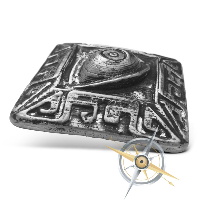 All Seeing Eye Poured Silver Bar