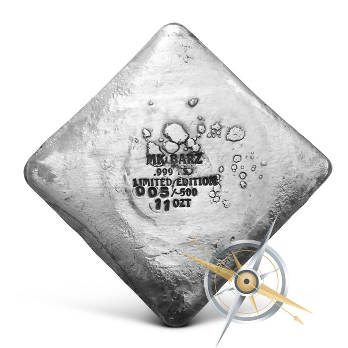 Limited Edition All Seeing Eye 11 oz Silver Bar