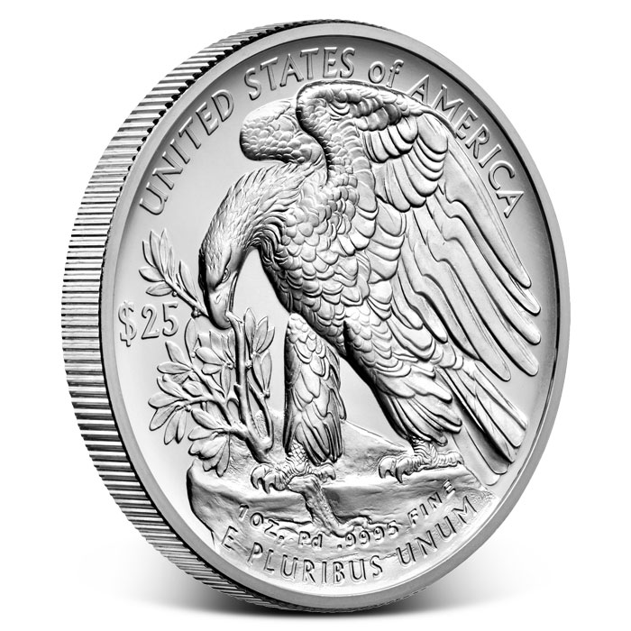 2017 1 oz American Palladium Eagle-18193