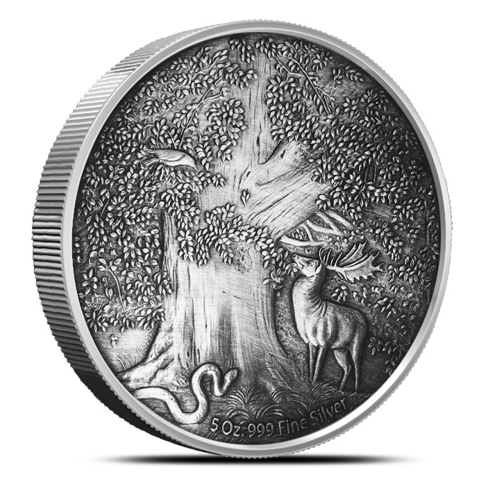 Nidhoggr 5 oz Silver Coin