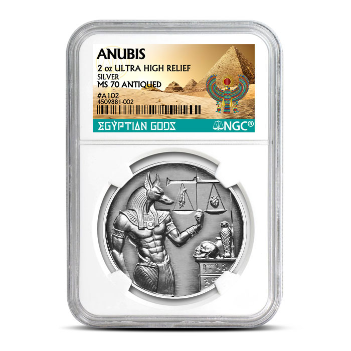 Certified Anubis Coin | MS70