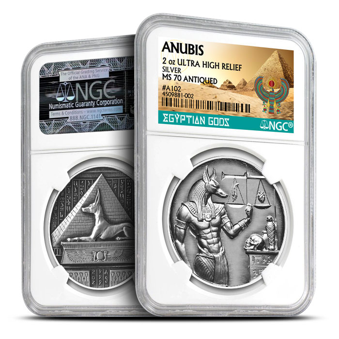 Antiqued Anubis Certified | MS70
