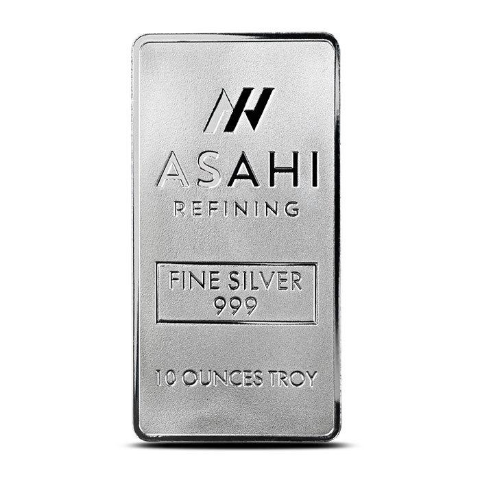 10 oz Silver Bar | Asahi Refinery-21996