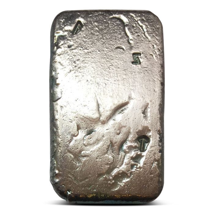 Poured Silver Rune Bar | 2 oz Asgard Silver