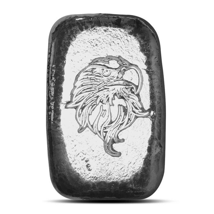 Atlantis Mint Double Sided Eagle 1 oz Silver Bar