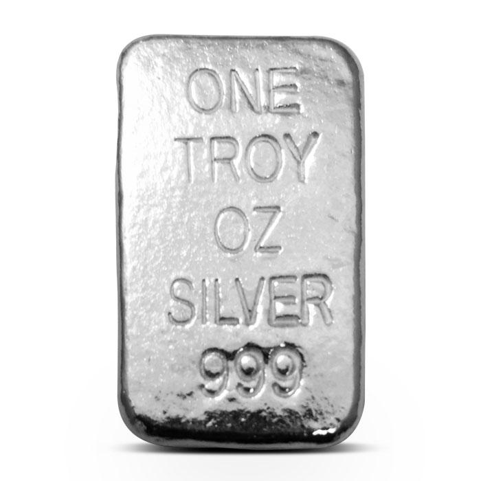 Atlantis Mint 1 oz Wolf Poured Silver Bar
