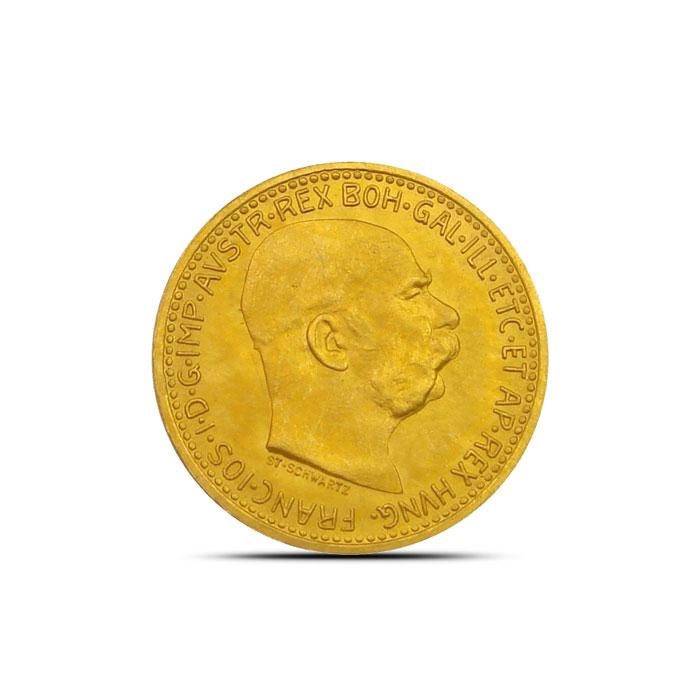 Gold Austrian 10 Corona