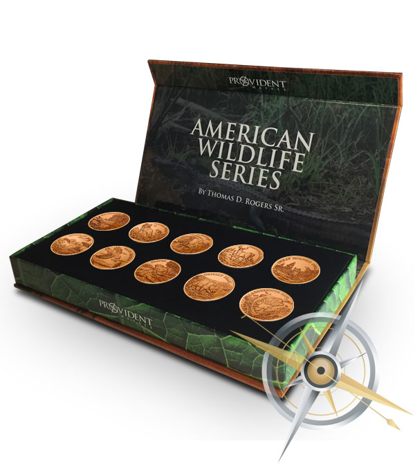American Wildlife Coins | Complete Copper Set