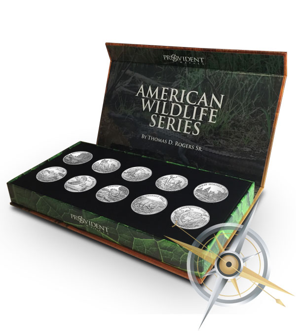 American Wildlife Coins   Complete Silver Set