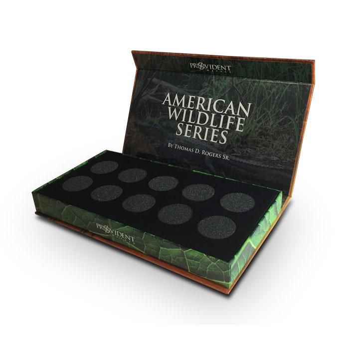 American Wildlife Series Display Box with Air-Tites