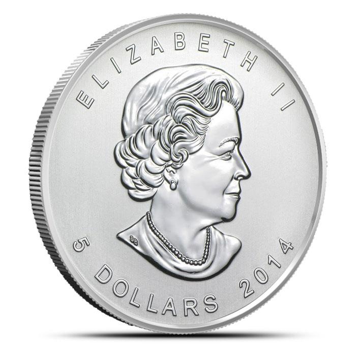 2014 Canadian 1 oz Silver Bald Eagle | Birds of Prey
