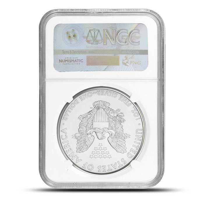 NGC MS69 American Silver Eagle - 2013