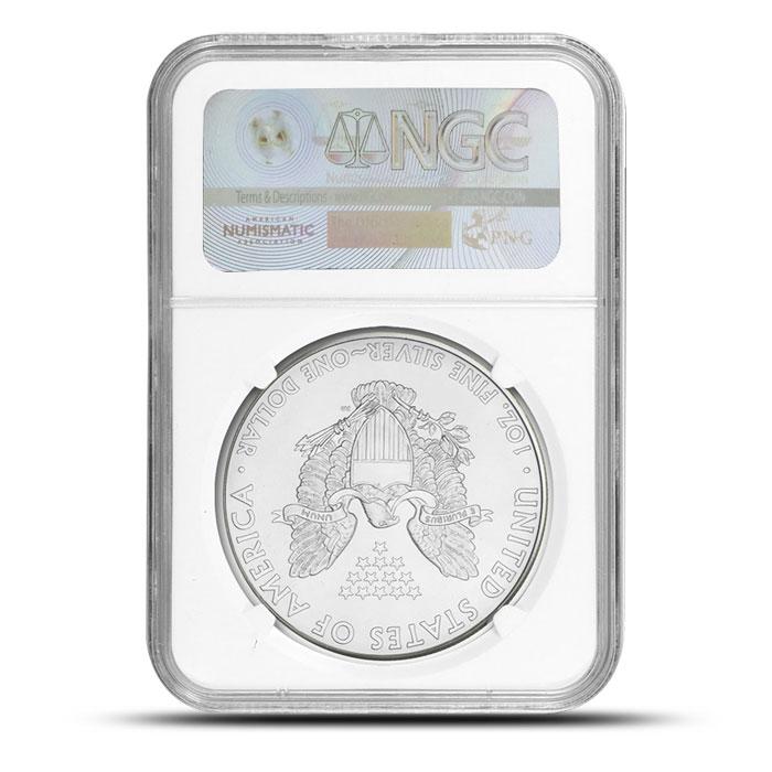 MS69 2014 1 oz American Silver Eagle | Provident Metals