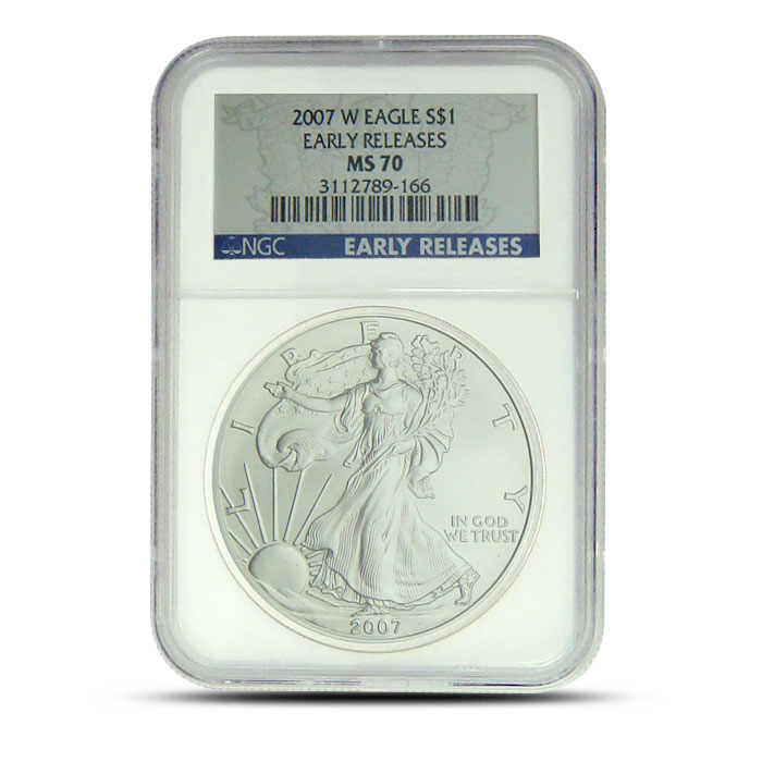 2007-W ASE | NGC MS 70 Early Release Obverse