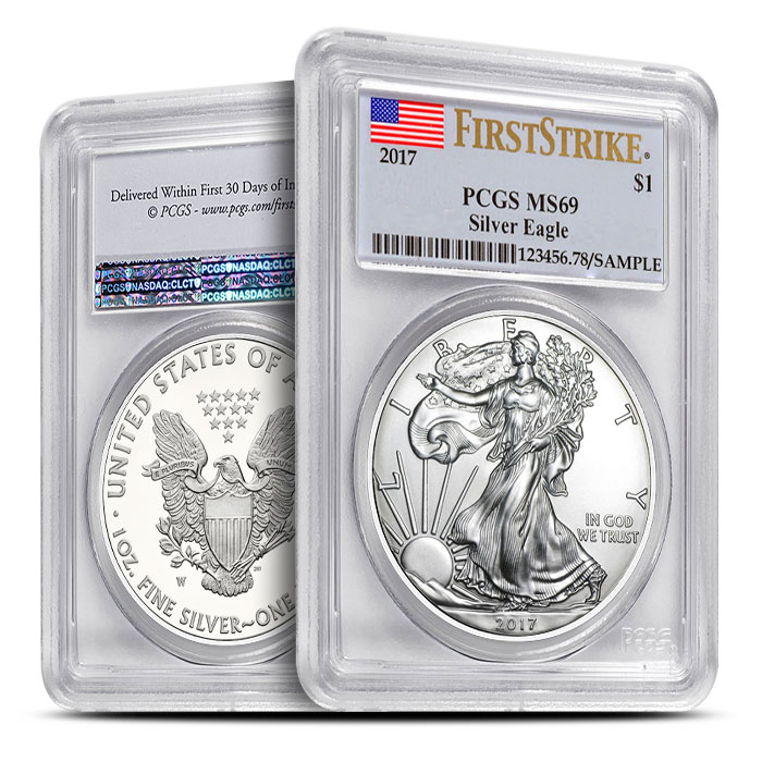 American Silver Eagle First Strike