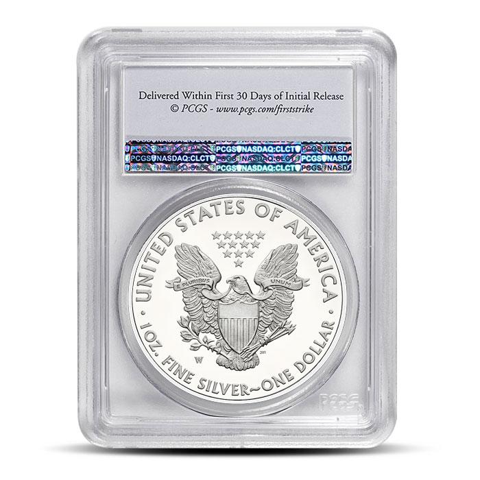 American Silver Eagle PCGS MS69