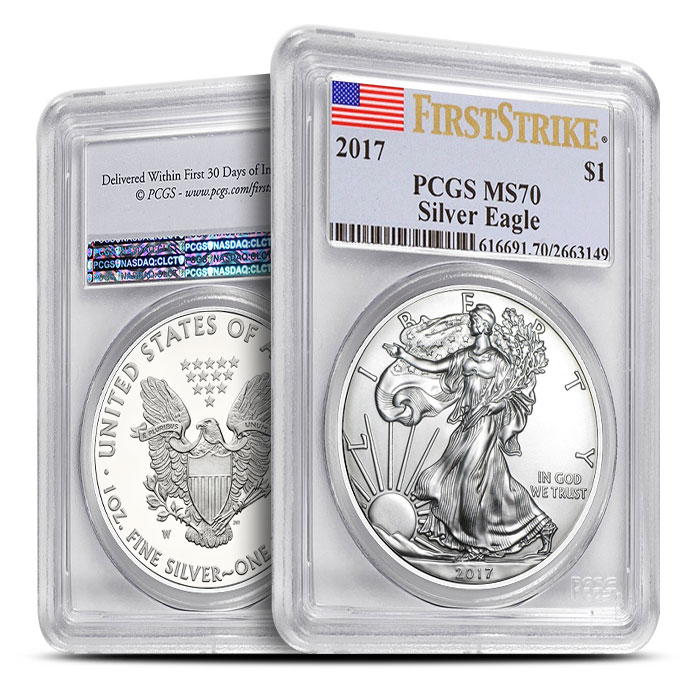 American Silver Eagle First Strike