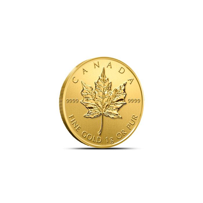 2015 1 g Golf Maple Leaf