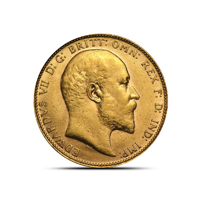 King Edward VII Gold Round | Sovereign Kings Gold Rounds