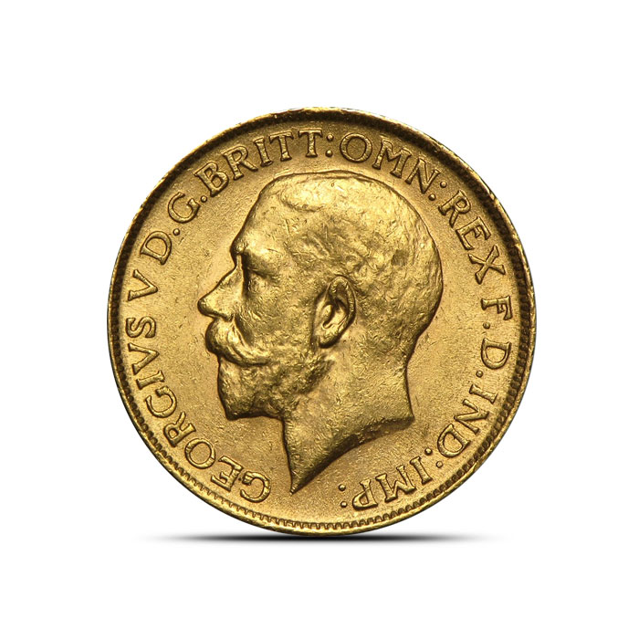 King George Gold Round | Sovereign Kings Gold Rounds