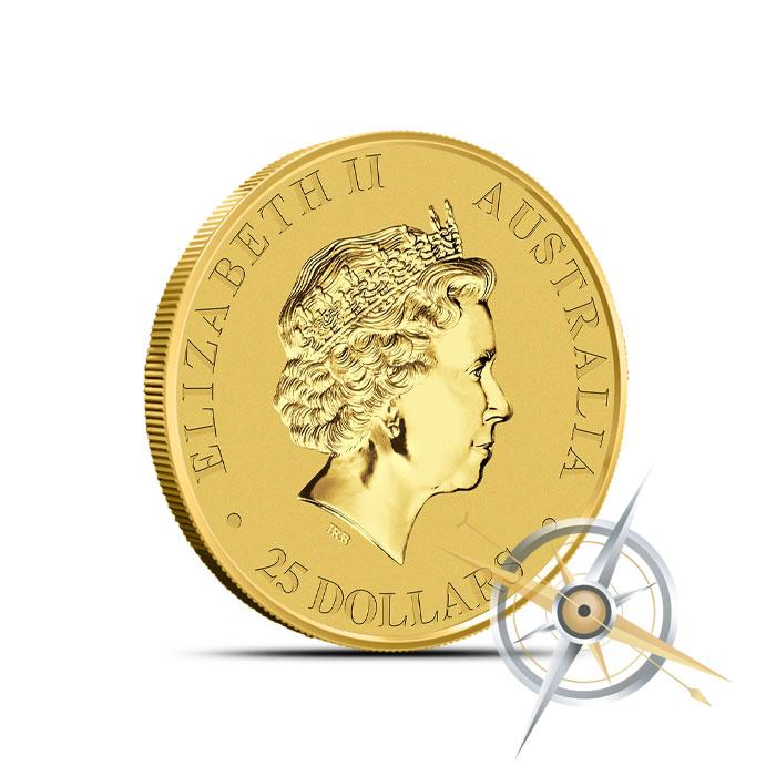 2016 quarter ounce Australian Gold Kangaroo