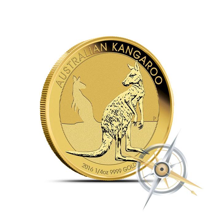 2016 1/4 oz Australian Gold Kangaroo