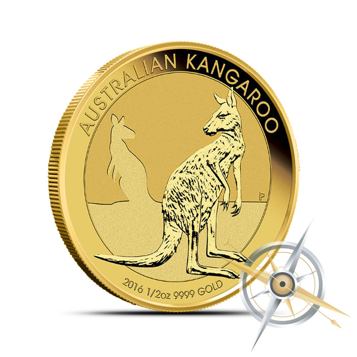 2016 1/2 oz Australian Gold Kangaroo