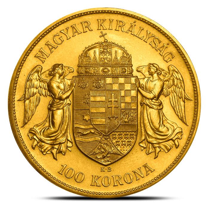 Austrian 100 Corona Gold