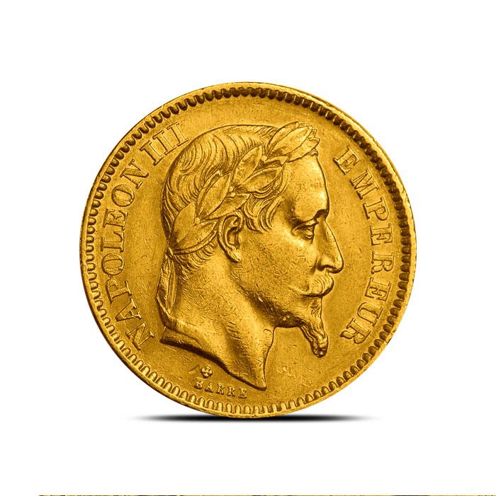 Pre 1870 Franc Gold Coin