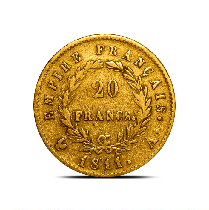 Pre 1870 20 Franc Gold Coin
