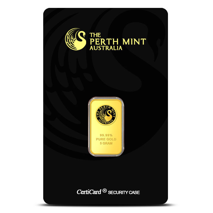 5 Gram Perth Gold Bar