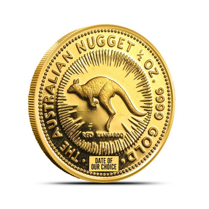 Gold Kangaroo Coin