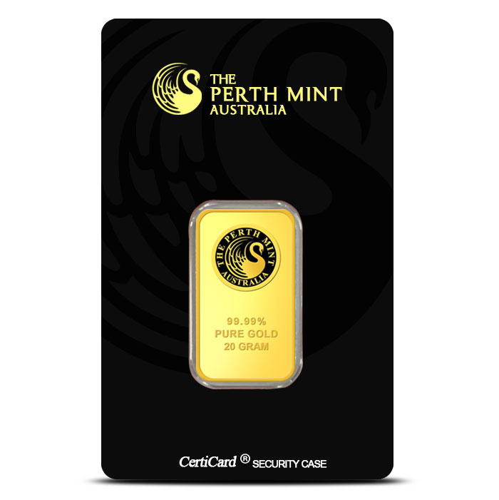 Perth Mint Gold Bar