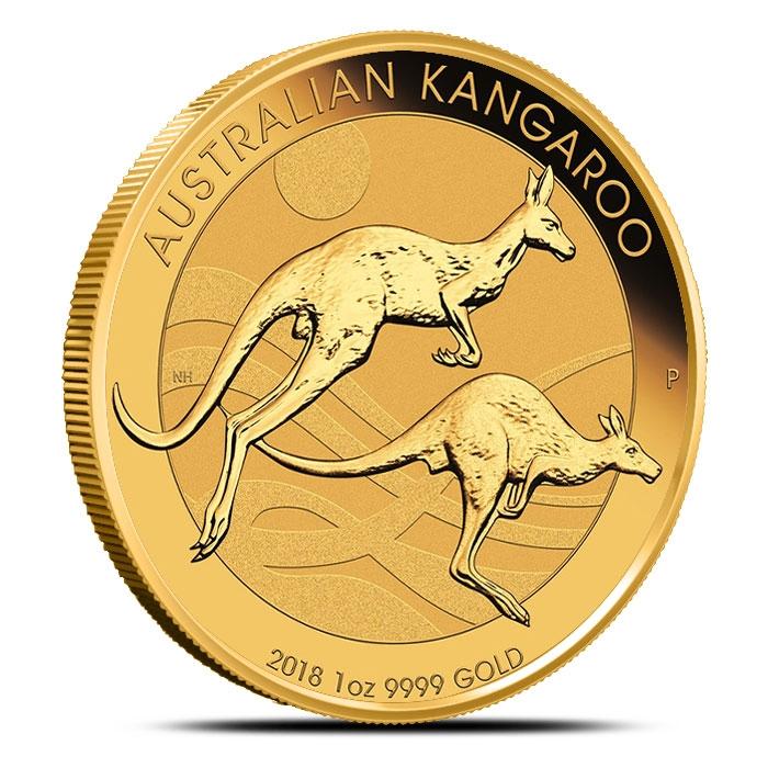 2018 1 oz Gold Australian Kangaroo