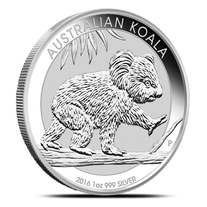 2016 1 oz Silver Koala | Perth Mint