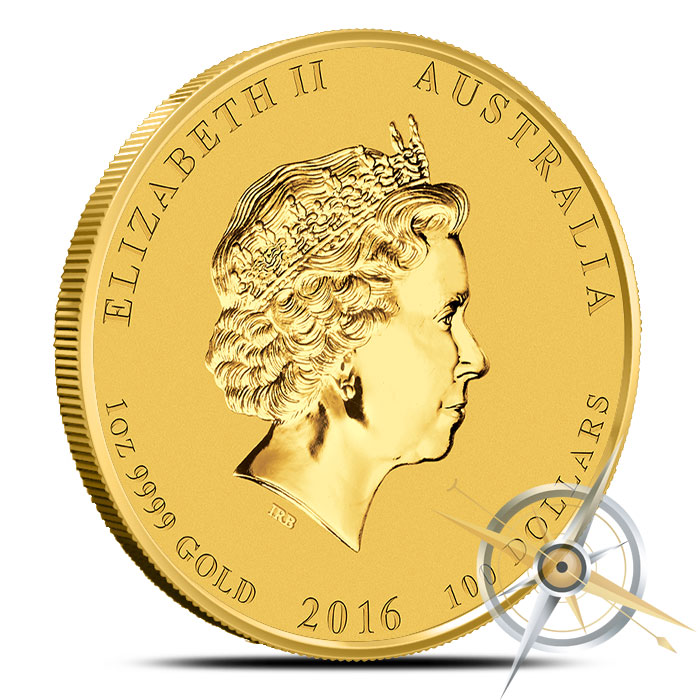 2016 Perth Mint Year of the Monkey 1 oz Gold Coin
