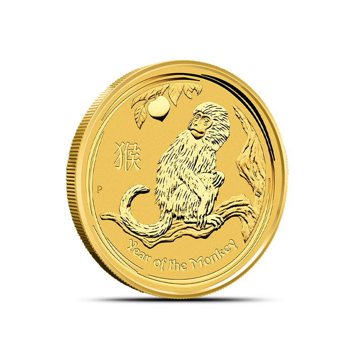2016 1/4 oz Gold Year of the Monkey Coin | Perth Mint