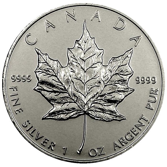 2010 1 oz Canadian Silver Maple Leaf